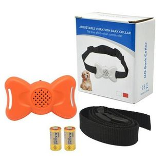 Bow Tie Vibration Anti Bark Collar