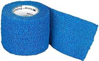 Veterinary Bandage - Blue 5m