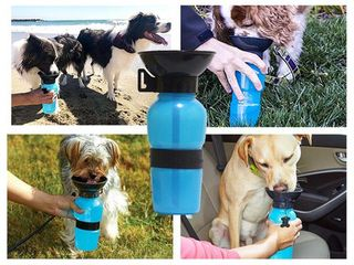 Travel Dog Bottle Bowl