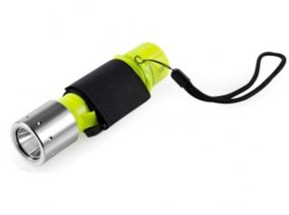 1000LM Waterproof LED Flashlight with Wrist Strap