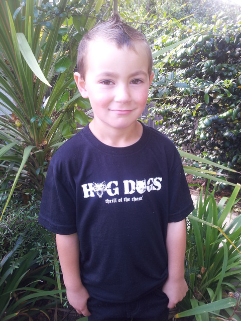 Kids Hog Dogs - 'thrill of the chase' Tee