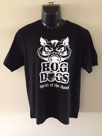 Mens Hog Dogs Boar Tee