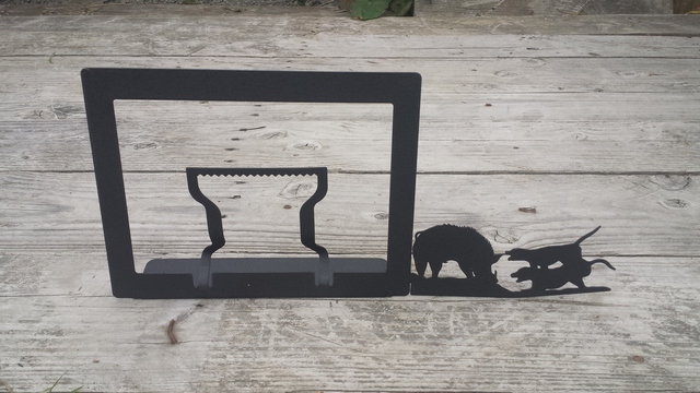 Hog Dogs Picture Frame