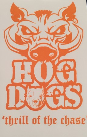 Hog Dogs Sticker